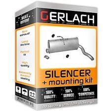 Rear exhaust for Citroen Berlingo, Partner 1.1. 1.4 1.8 1.9 D 96-03 1414
