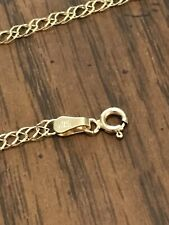 "14k Gold Link Chain/necklace~3.9g~24""~Beautiful Condition~Examine Pictures"