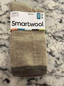 NWT Womens M Smart Wool Socks oatmeal Heather Knit 1 pair