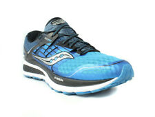 Saucony Triumph Iso 2 Mens Running Shoes, Blue/Black/Silver, Size 8.5 M