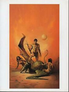 """Vintage Ken Kelly Poster """"Lost Planet""""  New Rolled"""