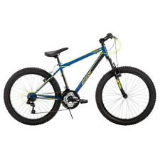 Huffy Multi-colored Durable Steel Frame Spartan 24 in. Men's Mountain Bike