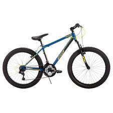 Huffy Multi-colored Durable Steel Frame Spartan 24 in. Men's Mountain Bike