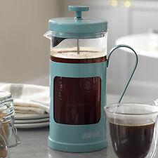 La Cafetiere Monaco Retro Blue Stainless Steel French Press Coffee Pot Jug Boxed