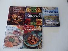 Lot(5)HB Gourmet's Holidays, America, Weekends, Quick Kitchens, Short Order  (S6