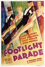 Footlight Parade - 1933 James Cagney Joan Blondell Vintage Musical b/w Film DVD