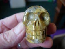 Crystal skull multi coloured agate LJ26