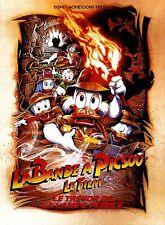 Affiche Pliée 40x60cm LA BANDE À PICSOU Le Trésor De La Lampe 1991 Disney NEUVE