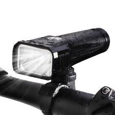 StVZO LED Fahrradlampe Scheinwerfer licht USB 18650Akku wasserdicht Taschenlampe