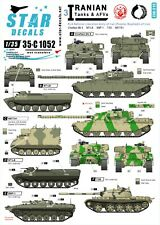 Star Decals 1/35 Iranian Tanks AFV 3 National Liberation Army Mujahedin 35c1052