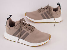 Adidas Originals NMD R2 PK Khaki Tan Men's Running Shoes US 9.5
