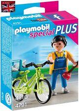 Playmobil 4791 Ofertas Especiales Plus Handyman Con Bicicleta