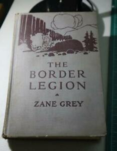 Zane Grey Western The Border Legion Illustrated by Lillian E. Wilhelm 1916