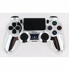 Chrome Silver Ps4 Rapid Fire Custom Modded Controller 35 Mods COD + more