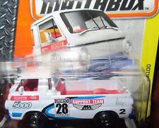 2016 Matchbox 1966 Dodge A100 Ute Pickup Heralda Support Team car 28 Club 5000