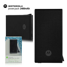 Motorola Portable Power Bank 2400mAh External Back Up Battery Pack For iPhone LG