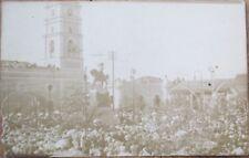 Camaguey, Cuba 1920 AZO Realphoto Postcard: Parque Agramonte - Camagüey