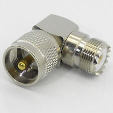 PL259 Right Angle Elbow R/A Adaptor 90 Degree Male Female UHF Plug SO239 Coupler