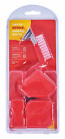 4 Piece Caulking Scraper Grouting Sealant Silicone Finishing Cleaning Tool Kit