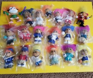 Russ Troll Dolls mixed lot 19 Sports Football  backpack Golf some rare ones