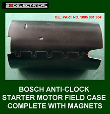 GENUINE BOSCH STARTER MOTOR FIELD COIL YOKE AND MAGNETS VW 137620 0001124011