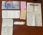 Awesome Lot 1953 Vtg Santa Fe railroad Ticket Lot Letter Receipt And More