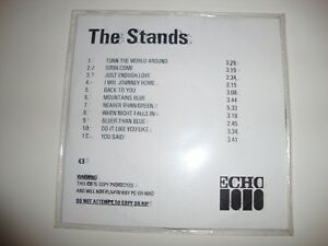 Rare THE STANDS - Untitled (Horse Fabulous) PROMO CD Album PR0M0 Numbered ECHO