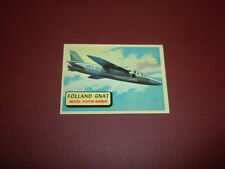 PLANES trading card #79 TOPPS 1957 Army Navy Marines Air Force PRINTED IN U.S.A