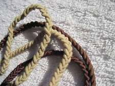 2 Goody Ouchless 3 Strand Braided Color Collection Hair Head Bands Blonde Brown