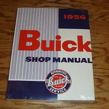 1956 Buick Shop Service Manual 56