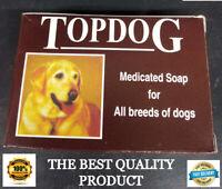 Dog Shampoo Soap For 100% Natural Healthy Coat Perfect Herbal Solution Bar