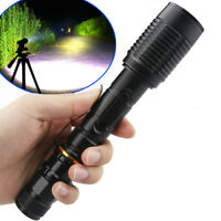 UltraFire Police 80000LM T6 LED Zoomable 18650 Flashlight Torch Lamp Light USA