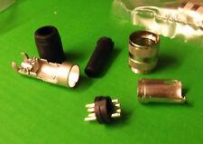 Audio DIN 5 Way Inline Plug Male Pins T3360010 Amphenol Tuchel C091A x 1pc ONO