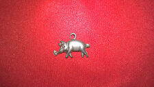 Sterling Silver Pig Charms pas scrap