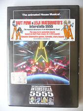 DVD MUSICALE DAFT PUNK & LEIJI MATSUMOTO INTERSTELLA 5555
