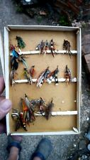 Collection Of Vintage Fishing Flies