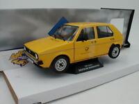 """Solido S1800206 - VW GOLF 1 Baujahr 1974 in gelb """" Deutsche Bundespost """" 1:18"""