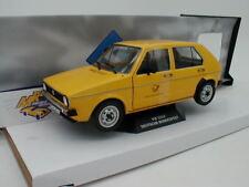 """Solido s1800206-VW Golf 1 anno di costruzione 1974 in giallo """"Deutsche Bundespost"""" 1:18"""