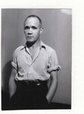 BRASSAI PORTRAIT OF JEAN GENET SIGNED LETTER GREAT!