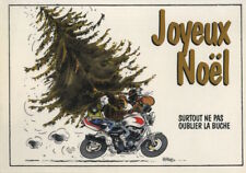 Carte postale Joe Bar Team Joyeux Noël ! Surtout ne pas oublier la buche