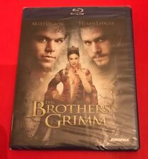 The Brothers Grimm (Blu-ray Disc, 2013) BRAND NEW Free Shipping!