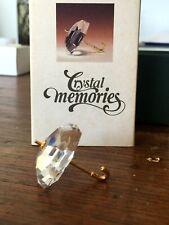 "Authentic Swarovski ""Crystal Memories"" gold Umbrella with original box"
