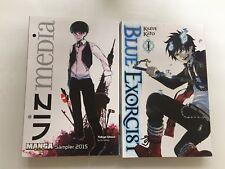 Blue Exorcist Kazue Kato Viz Media Tokyo Ghoul Manga Sampler 2015