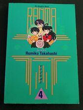 Viz Graphic Novel Ranma 1/2 Volume 4
