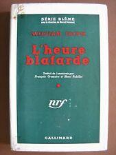 L'HEURE BLAFARDE