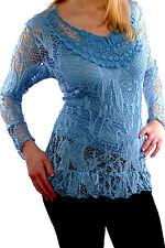 Camisa de mujer de encaje