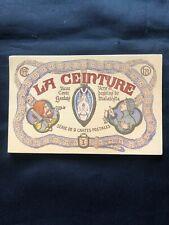 Série 10 Cartes Postales Anciennes Erotiques  LA CEINTURE Illustrateur Malatesta