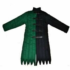 Medieval-Thick-Padded-Gre en-Black-Gambeson-Play-Mov ies-Theater-Custome-m-to-9 xl