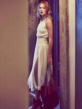 New Free People White The Definition Of Sexy Dress Size S $108