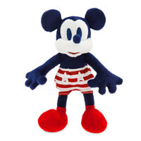 Disney Store Authentic Mickey Mouse Americana Plush Vintage Style Toy Doll New
